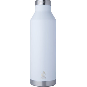 MIZU V8 - Gourde - with Stainless Steel Cap 800ml blanc